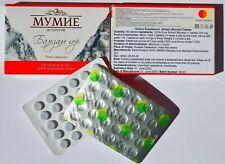 Mumijo Shilajit Tabletten | 100% rein | ab 60 Stk. | 200 mg 0,2 g | Zertifiziert