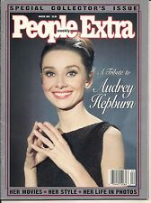 AUDREY HEPBURN TRIBUTE  PEOPLE EXTRA 1993 COLLECTOR'S HER MOVIES STYLE & PHOTOS