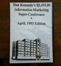 Dan Kennedy $3,495.00 Information Marketing Super Conference April 93 6 CD Set