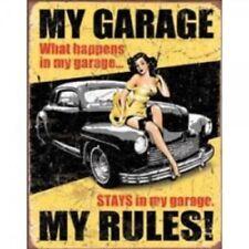Garage Rectangular Decorative Indoor Signs/Plaques