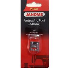 Janome PINTUCKING Feet Set - for Twin Needle Work Snap on Cording