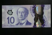 2013 Canada Bank of Canada 10 Dollars Perfect UNC Polymer Banknotes