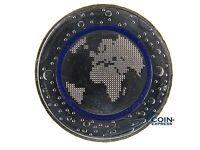 *** 5 Euro Münze DEUTSCHLAND 2016 A Planet Erde blauer Ring aus Polymer Berlin