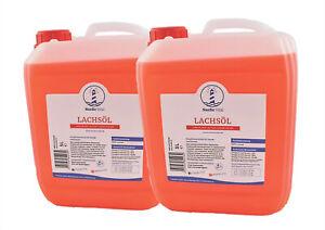 Lachsöl 2x10 L Kanister, Hunde, Barföl, Barfen, Fischöl