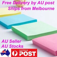 2 x 100 Sheets Sticky Notes Page Maker Office Tabs Sticker Pad Bookmaker