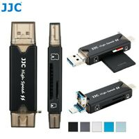 JJC SD Card Reader USB 3.0 Type C Micro OTG Adapter fit SD TF MSD SDXC SDHC Card
