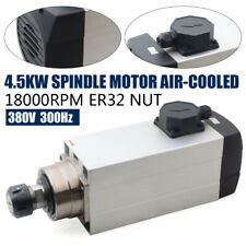Er32 Spindle Motor Air Cooled Cnc Router Mill Machine 4500w Engraving Grinding