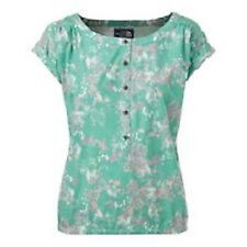NWT The North Face Women's Pixley Shirt Jaiden Green Print Sz Small $45 Retail