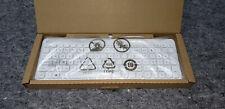 HP Galeras Wired White Slim PC Keyboard Model KBAH21 USB New Box