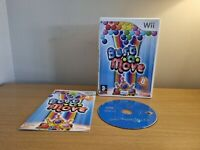 NINTENDO WII - BUST A MOVE - COMPLETE WITH MANUAL - FREE P&P
