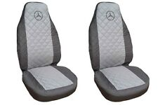 Front Seat Covers Mercedes A , B , C ,E class Vito , Viano , Sprinter BLACK-GREY