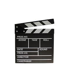 Movie Clapboard - 20cm x 20cm