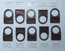10 Pcs 22MM Legend Plate Label Holders For Control Pushbuttons And Indicators