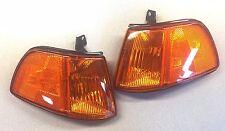 Depo 317-1504PTB-VY - 1990-91 Honda Civic Hatchback - Pair Corner Lights - Amber