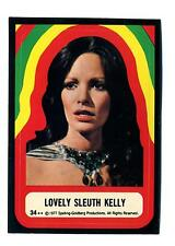 Topps 1978 Charlie's Angels Series 4 Sticker Card #34 Lovely Sleuth Kelly