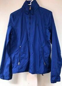 New Ralph Lauren golf athletic jacket top hoodie in blue size women's M $225