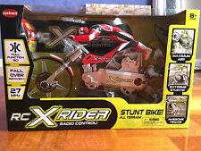27 MHz 1/5 Scale Stunt RC XRIDER Radio Romote Control Motorbike Motorcycle Toy