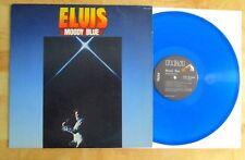 ELVIS PRESLEY BLUE VINYL LP MOODY BLUE