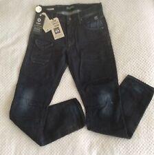 New Men's Jack & Jones DEXTER CORE Jeans Mid Blue Comfort Fit 28W 32L Button Fly