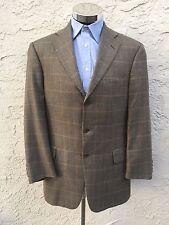 ING Loro Piana 100% Cashmere Sport Coat Blazer Jacket John W Nordstrom 40R