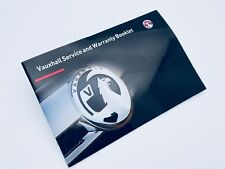 Vauxhall 2015 ZAFIRA TOURER Service Book New Blank Genuine