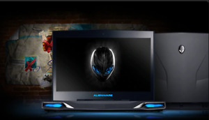 "Gaming Laptop Alienware M14X i7 14.1"", RAM16GB, SSD,512GB backlight NVidia"