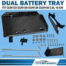 Dual Battery Tray Kit fit Toyota Hilux 15-08/18 GUN123 GUN126 GUN136 2.8L Diesel