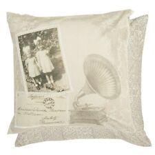 Baumwolle Kissenbezug Sterne Deko Kissen Hülle 50 x 50 cm Shabby Nr Q161.030 NEU