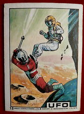 UFO - ANGLO (1970) - Card #13 - Individual Trading Card, Excellent Condition