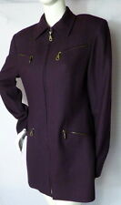 RARE British Tailor PETER SO Hong Kong Hand Tailored Wool Women's Jacket