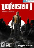 Wolfenstein II 2 : The New Colossus PC [BRAND NEW STEAM KEY]