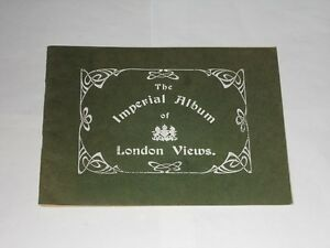 The Imperial Album Of London Views. 91 Views Of London Undated Booklet.