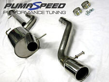 FORD FOCUS ST170 MILLTEK SPORT CAT BACK EXHAUST