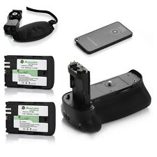 BG-E11 Grip For Canon 5D Mark III Camere+ 2Pack LP-E6 Battery + IR Remote +Strap
