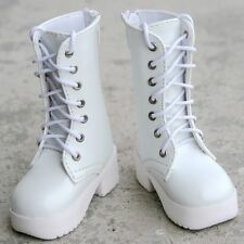 [wamami] 1/3 White SD LUTS BJD Dollfie Leather Boots/Shoes