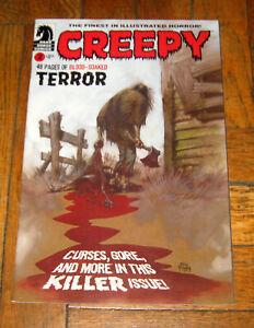 CREEPY # 2  NOV.  2009  DARK HORSE COMICS
