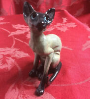 Fabulous Kitty's Kennel Sophie Siamese Cat Ornament