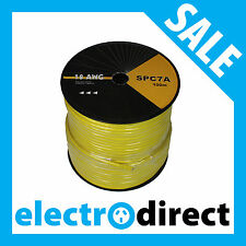 100m Speaker Cable 18AWG 4 Core High Grade 18 AWG Speaker Cable
