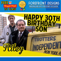 Personalised Only Fools And Horses, Delboy, Rodney Birthday Card A5 Large