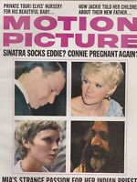 MAY 1968 MOTION PICTURE movie magazine SINATRA - MIA FARROW