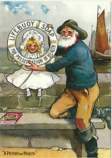 ROBERT  OPIE  ADVERTISING  POSTCARD  -  LIFEBUOY  SOAP