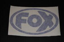 FOX Auspuff Exhaust Schalldämpfer Muffler Aufkleber Sticker Decal Bapperl Kleber