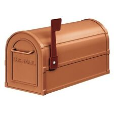 Salsbury Industries Antique Rural Mailbox - Copper-MAILBOX 4850A-COP Mailbox NEW