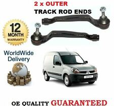 FOR RENAULT KANGOO 1.5 DCi 1.6 2008-> LEFT & RIGHT SIDE OUTER TRACK TIE ROD END