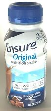 Ensure Original Milk Chocolate Nutrition Shake, 8oz Each - 6 Count