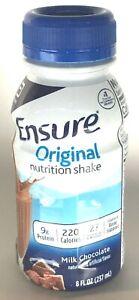 Ensure Original Milk Chocolate Nutrition Shake, 8oz Each - 6 Count