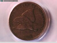 1858 Flying Eagle Cent PCGS VF 30 Small Letters 19028832 Video