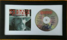 CHARLIE DANIELS SIGNED AUTOGRAPHED FRAMED SUPER HITS CD  - exact proof