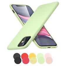 Schutzhülle Silikon Apple iPhone Slim Handy Hülle Tasche Case Cover matt Farbig