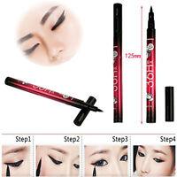 Cute Beauty Waterproof Make Up Cosmetics Pencil Pen Black Eye Liner Liquid